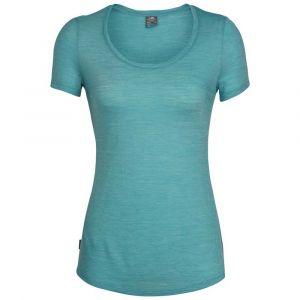 Icebreaker Women´s Sphere S/S Scoop - T-shirt taille L, turquoise
