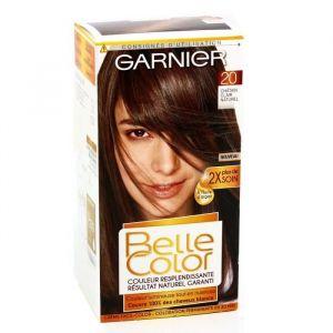 Garnier Crème facil-color, coloration permanente, 20-châtain clair naturel