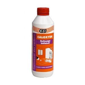 Geb CALOXYDE :Nettoyant plâtre - ciment - calcaire -