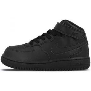 Nike Chaussure de basket-ball Chaussure Air Force 1 Mid pour Bébé/Petit enfant - Noir Taille 18.5