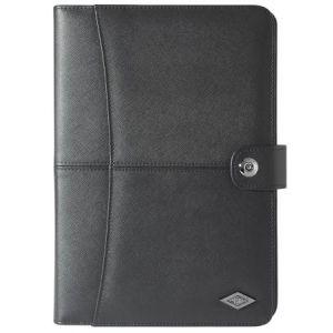 Wedo 58 6901 - Conférencier Accento, format A5, simili cuir, noir