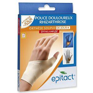Epitact Orthèse souple de jour pour pouce main gauche (Taille S)