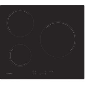 Candy Table de cuisson vitrocéramique CH63CT/1 Noir