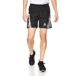 Odlo Pantalons Omnius Inner Brief - Black / Concrete Grey / Black/ Aop Fw18 - Taille L