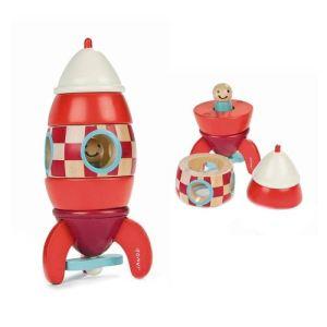 Janod Kit magnet Fusée géante