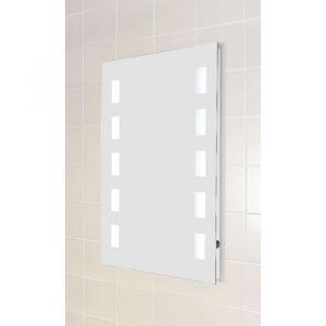 Miroir verre LED 50x70 cm - Bar lumineux - Miroir verre LED - 50x70 cm - Bar lumineux