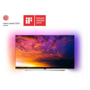 Philips TV 55OLED854 UHD 4K Ambilight 3 côtés Android TV 55''