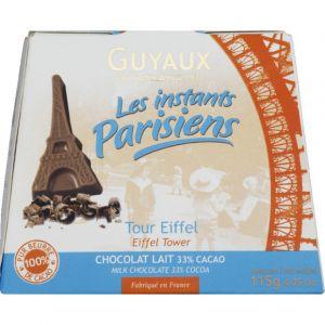 Guyaux Tour eiffel en chocolat au lait - La boite de 115g
