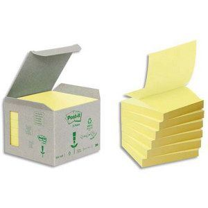 Post-It 6 Notes repositionnables (76x76 mm)