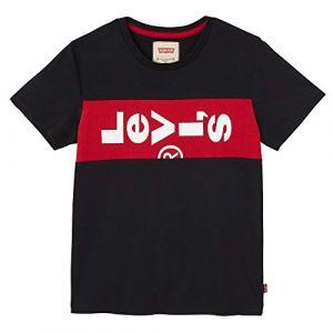 Levi's T-shirt enfant NN10007 Noir - Taille 4 ans,6 ans,10 ans,14 ans