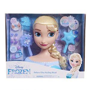 La Reine des Neiges - Deluxe Elsa - Tête de Coiffure