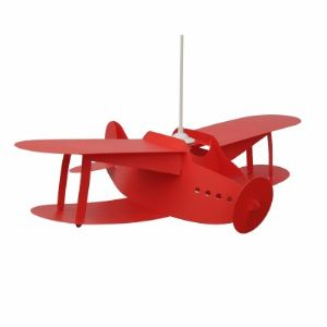 Rosemonde et Michel Coudert Avion Biplan - Suspension H15 cm