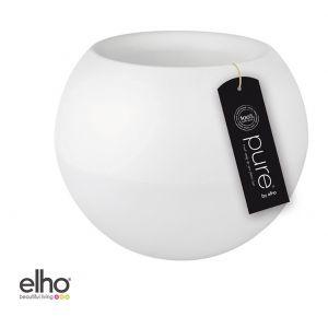Elho Pure Ball - Pot de fleur rond plastique Ø50 x 40 cm
