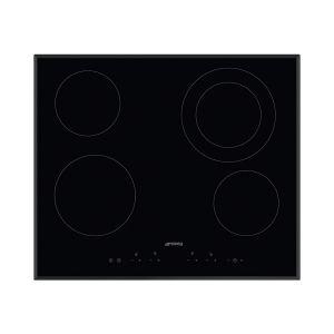 Smeg SE364ETB - Table de cuisson vitrocéramique 4 foyers
