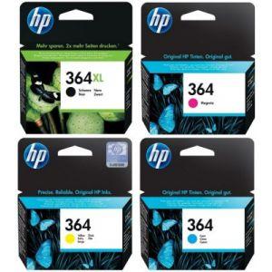 HP Cartouche d'encre Pack 364 XL Noir+364 Couleurs