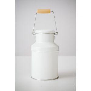 Mam Bio Caramel dans un pot à lait blanc 150 g