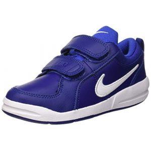 Nike Pico 4 (PSV), Chaussures de Tennis garçon, Bleu (Deep Blue/White/Game Royal 409), 31 EU