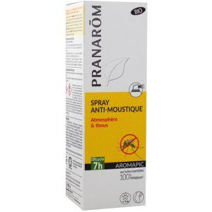 Pranarôm Aromapic - Spray anti-moustique atmosphère et tissus