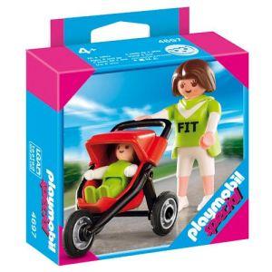 Playmobil 4697 - Maman avec bébé et poussette