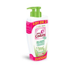 Bébé Cadum Gel lavant corps et cheveux natural caresse