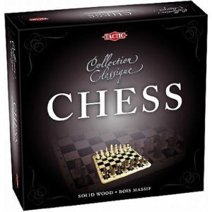 Tactic Coffret échecs en bois