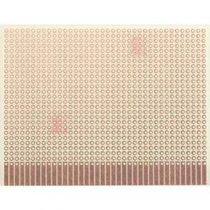 WR Rademacher Platine d'expérimentation WR-Typ 903-1 VK C-903-1-EP Epoxy (L x l) 100 mm x 80 mm 35 µm Pas 2.54 mm 1 pc(