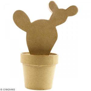 decopatch Objet en papier mâché cactus Western 18 x 8 x 14 cm