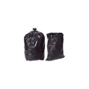 Delaisy kargo Boîte de 100 sacs poubelle très résistant 75 microns (130 L)