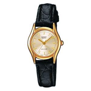 Casio LTP-1154PQ-7AEF - Montre pour femme avec bracelet en cuir