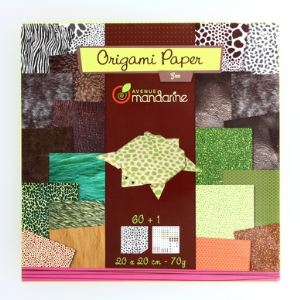 Avenue mandarine Origami : Papier Zoo