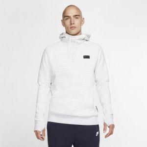Nike Sweat à capuche en tissu Fleece Paris Saint-Germain pour Homme - Blanc - Taille XL - Male
