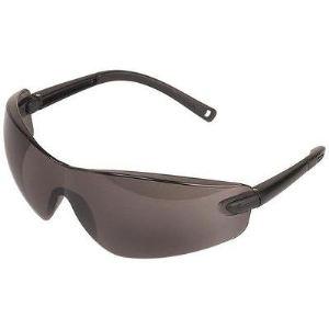 Wolfcraft 4885000 - Paire de lunettes de protection teintées, anti-rayures CE