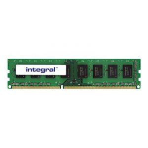 Integral IN3T4GNAJKXLV - Barrette mémoire 4 Go DDR3 1600Mhz DIMM PC3-12800 NON-ECC 512x8 CL11