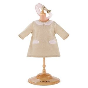 Corolle Robe Nuage de Paillettes pour poupon de 42 cm