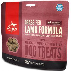 Orijen Friandises pour chien Grass-Fed Lamb Contenance : 42,5 g