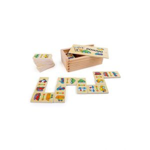Legler 4221 - Jeu en bois - Domino 'Véhicules'