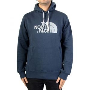 The North Face Drew Peak Sweat-Shirt à Capuche Homme, Urban Navy/High Rise Grey, FR M (Taille Fabricant M)