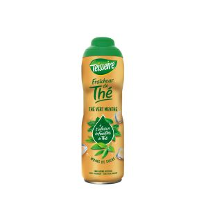 Teisseire 60cl sirop fraicheur de the vert menthe bouteille pet