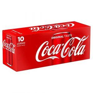 Coca-Cola Frigo pack - Les 10 canettes de 33cl