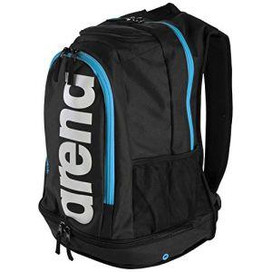 Arena Fastpack Core Sac de Piscine Mixte Adulte, Noir/Bleu, Taille Unique