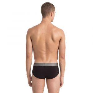 Calvin Klein Vêtements intérieurs Customized Stretch Hip Brief - Bla - M