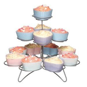 Kitchen craft Support à cupcakes 3 étages