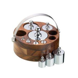 Kitchencraft NEWGTIMP8 - Boite de 10 poids pour balance à système métrique