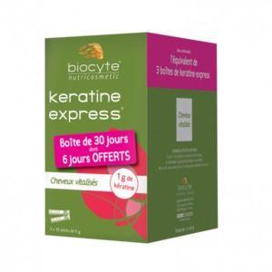 Biocyte Keratine express cheveux vitalisés 30 Sticks