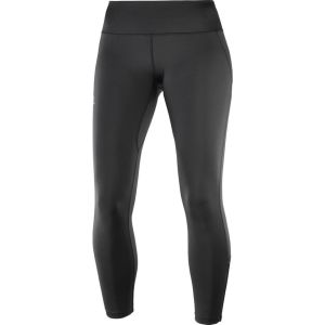 Salomon Femme Collant de Course, Agile Long Tight, Mélange Synthétique, Noir, Taille M, L40125900