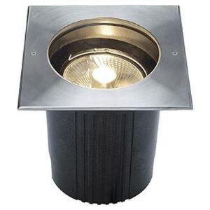 SLV 229234 - Encastré de sol inox Dasar 215 ES111 cadre carré