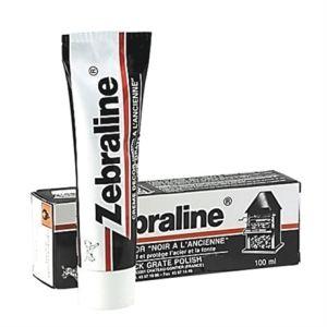 Zebra Crème décor cier pâte noire - 100mL - Nettoyant métaux LINE