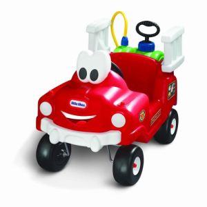Little tikes Porteur camion de pompier arroseur