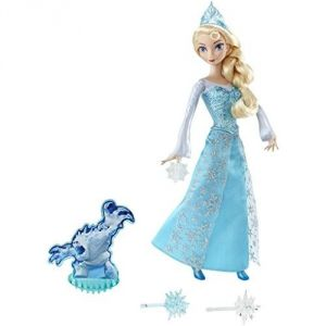Mattel Poupée Elsa Action La Reine des Neiges