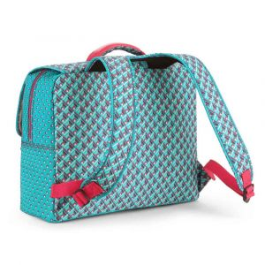 Cartable Kipling Iniko 40 cm CE2/CM1 Summer Pop Bl bleu